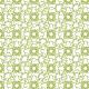 Étoiles froissés vertes - zoom