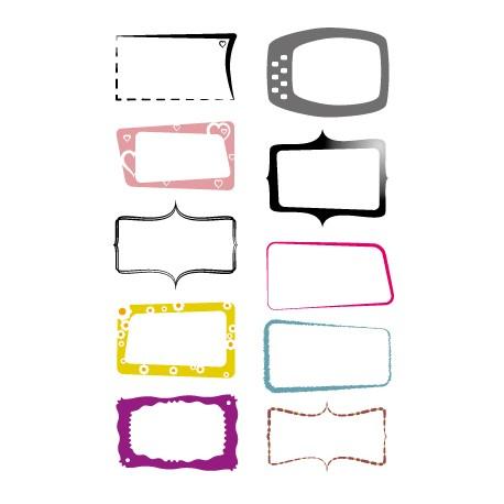 planches 10 étiquettes - A4