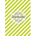 Diagonales vertes et blanches