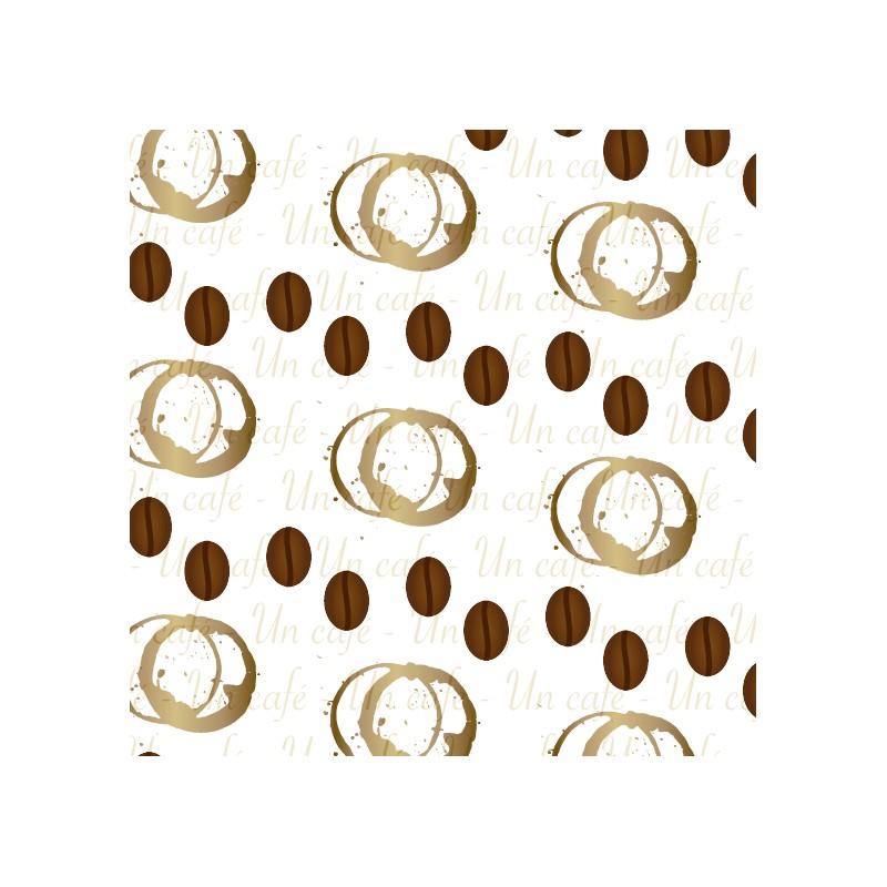 caf en grains et en taches papier scrap imprimable t l charger. Black Bedroom Furniture Sets. Home Design Ideas
