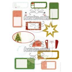 Étiquettes - Noël