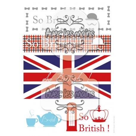 So british - stamp