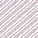 Rayures ondulées prune en diagonale - zoom