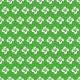 Croix basques blanches sur fond vert - zoom
