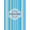 Lignes verticales monochrome bleu