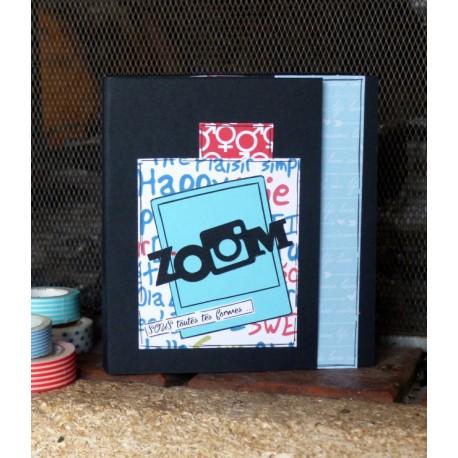 Kit - mini album - ZOOM sous toutes tes formes