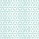 Hélices multipliées blanches sur fond bleu - zoom
