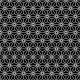 Géométrie japonisante noir et blanc - minipack - zoom