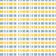 Bandeaux oranges et gris-bleu rayés de blanc - zoom