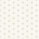 Hexagones arrondis beiges - zoom