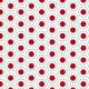 Hexagones arrondis rouge et turquoise 2 - zoom
