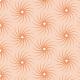 Spirales en soleils saumon - zoom