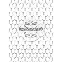 Cravates simples - stamp