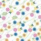 fleurs et flèches - zoom