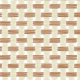Tissage marron et beige - zoom
