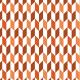 Cubisme automnale orange-marron - zoom