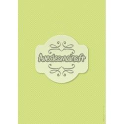 Petits carreaux verts et blancs - minipack
