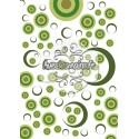 Cercles en cibles - vert