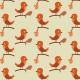 Petits oiseaux sur une branche accrochés - zoom
