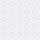 Zellige en étoiles et carrés - gris - zoom
