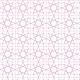 Zellige en étoiles et carrés - rose - zoom