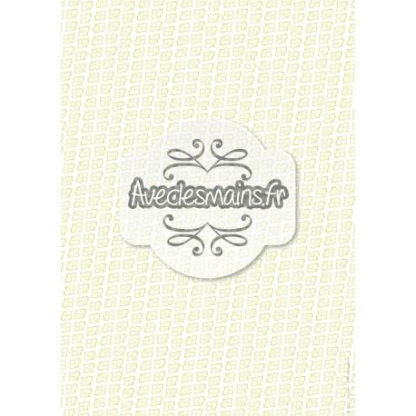 Petits coins arrondis - vert - stamp