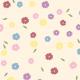 Quelques fleurs, 5 couleurs - zoom
