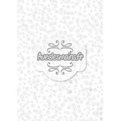 Bouclettes grises - stamp