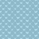 Cœurs en escadrille - bleu - zoom