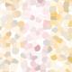 Pointillisme abstrait - pastel - zoom