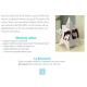 """Kit - Carte triangle """"Un brin de folie"""" - photo 3"""