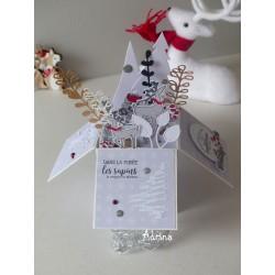Kit - Carte pop up de Noël