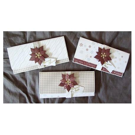 Kit scrap   Pochette cadeau   Noël   tuto + papiers imprimables
