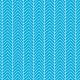 Chevrons irréguliers blancs sur fond turquoise - zoom