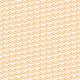 Chevrons emplilés orange - zoom