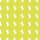 Petits cactus Blancs sur fond vert anis - zoom