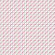 Faux cercles - 4 couleurs - zoom