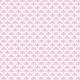 Exclamation en éventail rose - zoom