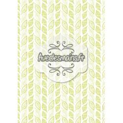 Dessins de feuilles - vert