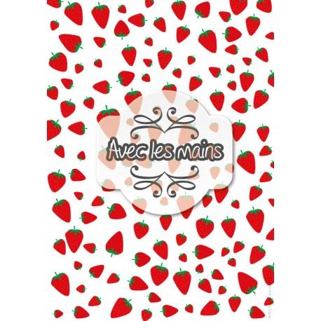 Tapis de fraises