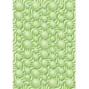 Motif bouboule sur vague - vert