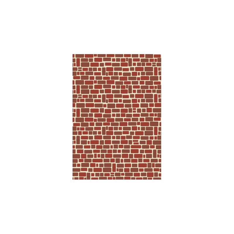Mur de briques papier scrapbooking t l charger et imprimer - Casser un mur de brique ...