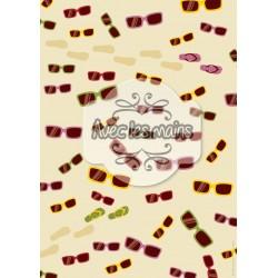 Lunettes de soleil et tongues - mini pack