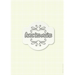 Carreaux 5 x 5 - vert - mini pack - stamp
