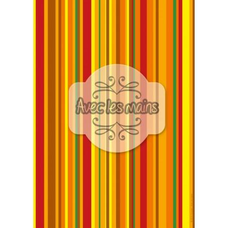 bandeaux verticaux multicolores 2 - stamp